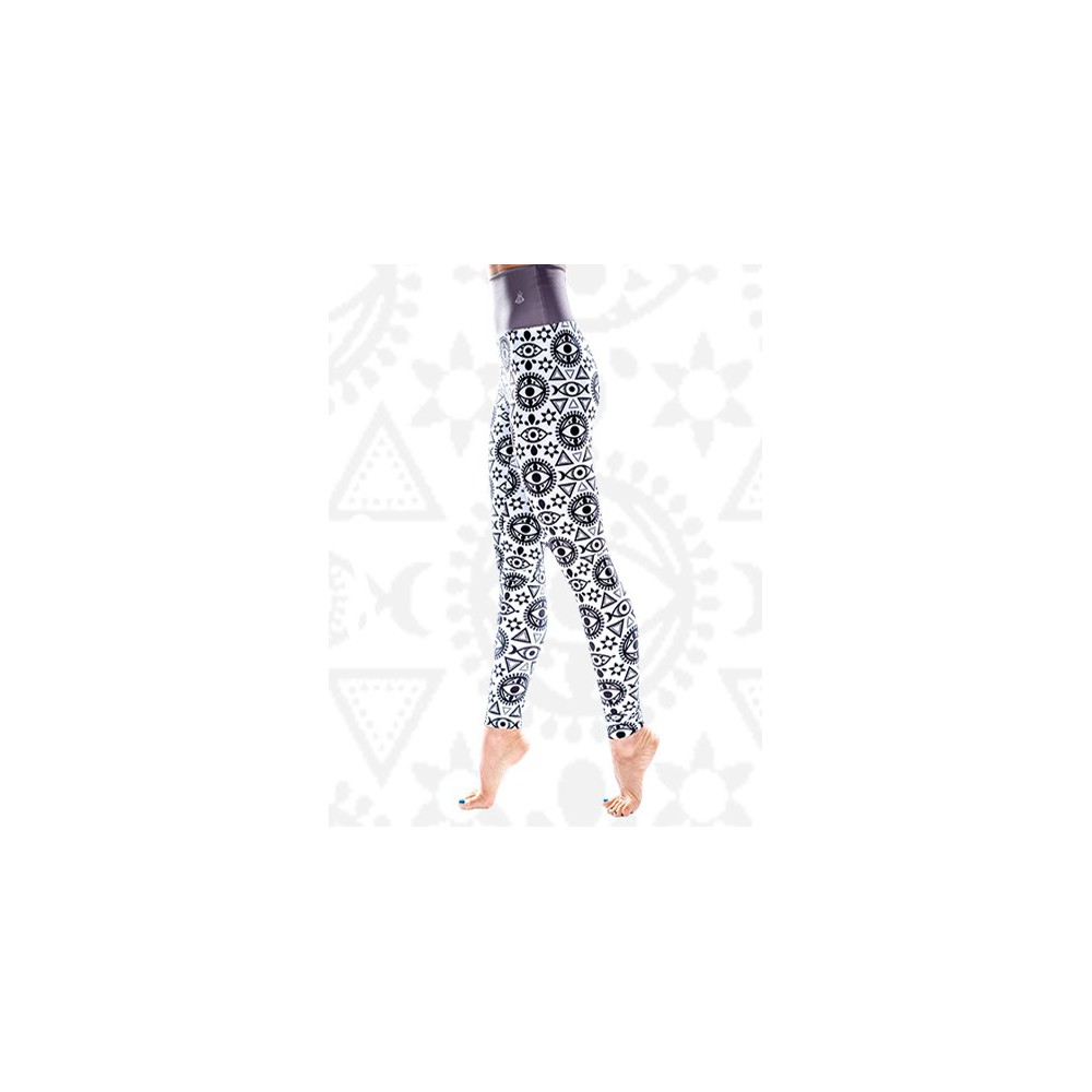 55e8e256bf2bbe Boho All Seeing Eye Leggins S/M - Brightboho Yoga Leggings