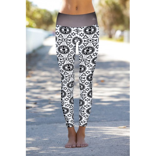 Boho All Seeing Eye Leggins L/XL