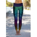 Marble Color Leggings S/M