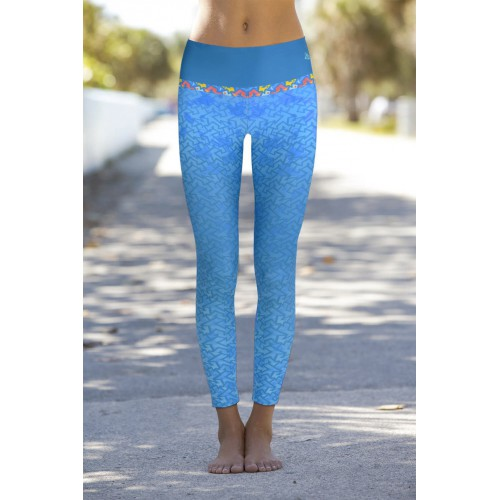Boho Grafitti Leggins L/XL