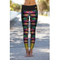 Boho Jungle Monstera Leggins S/M