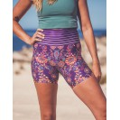 Flowery Stripes Shorts S/M
