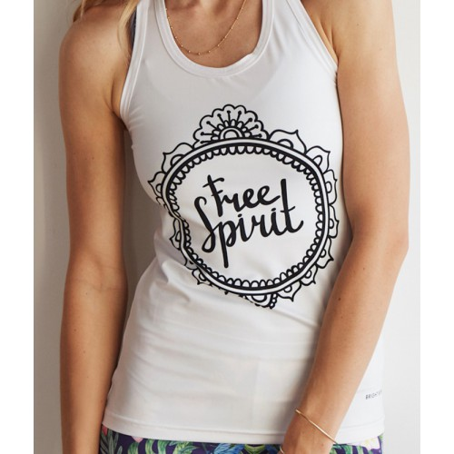 Bright Boho Top Free Spirit M