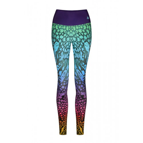 Marble Color Leggings S/M