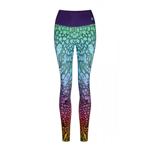 Marble Color Leggings XS